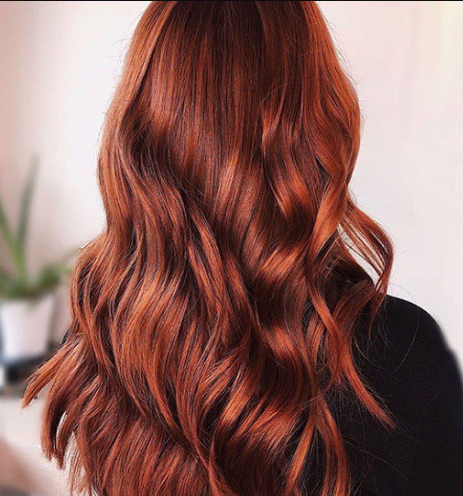 Terrakota Kızıl Saç Modeli
