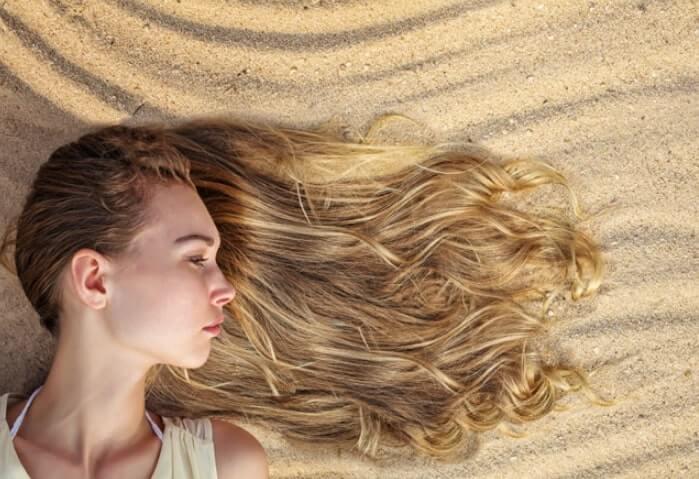 Deniz sonrası saç bakımı