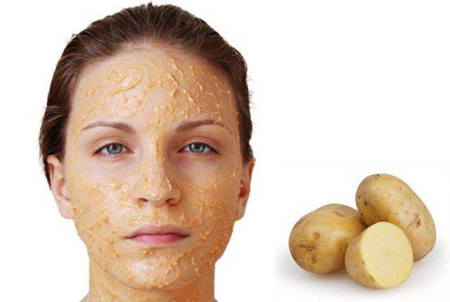 Patates maskesi