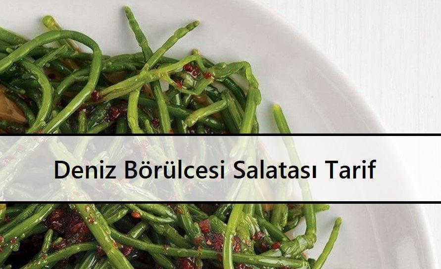 Deniz Börülcesi Salatası Tarif