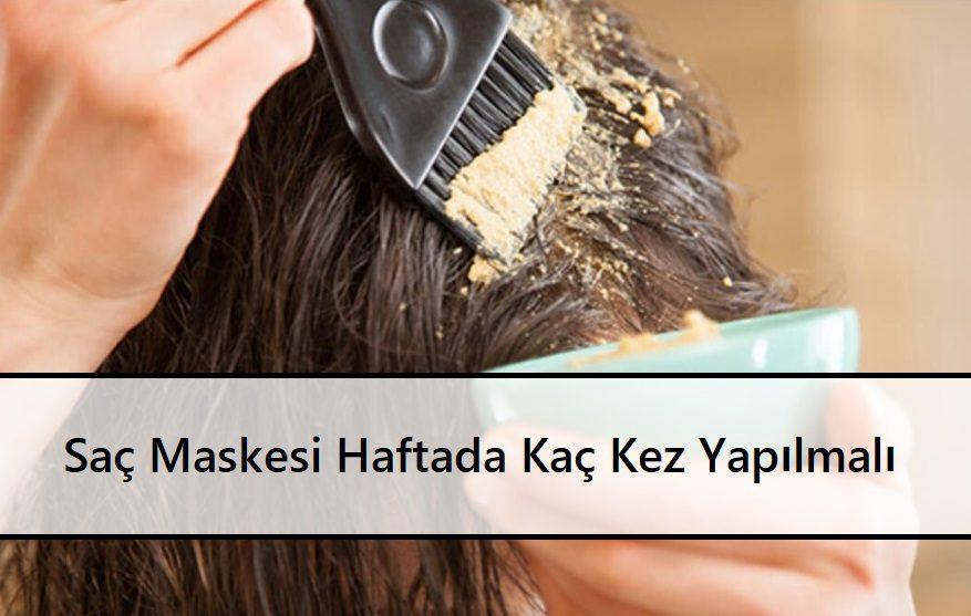 Saç Maskesi Haftada Kaç Kez Yapılmalı