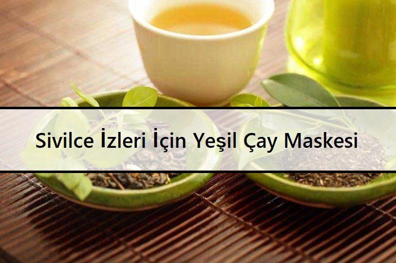 Sivilce İzleri İçin Yeşil Çay Maskesi